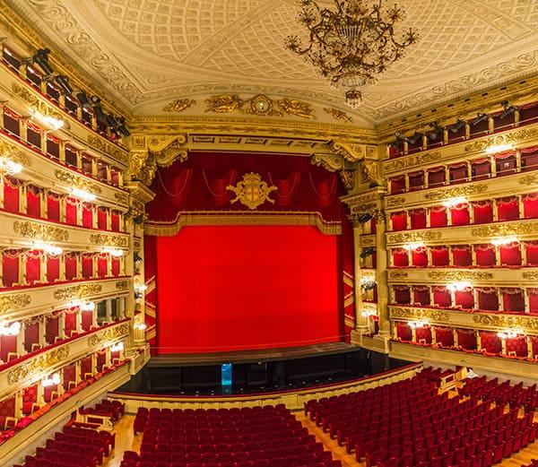 La Scala in Milan