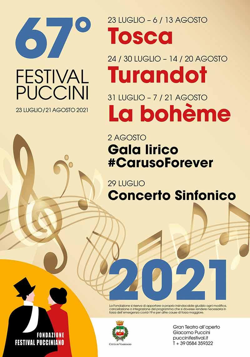 Puccini Festival Torre del Lago - Summer opera Festivals in Italy